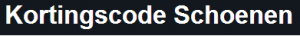 kortingscode-schoenen-logo2